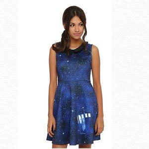 Hot Topic Doctor Who Galaxy Tardis Dress